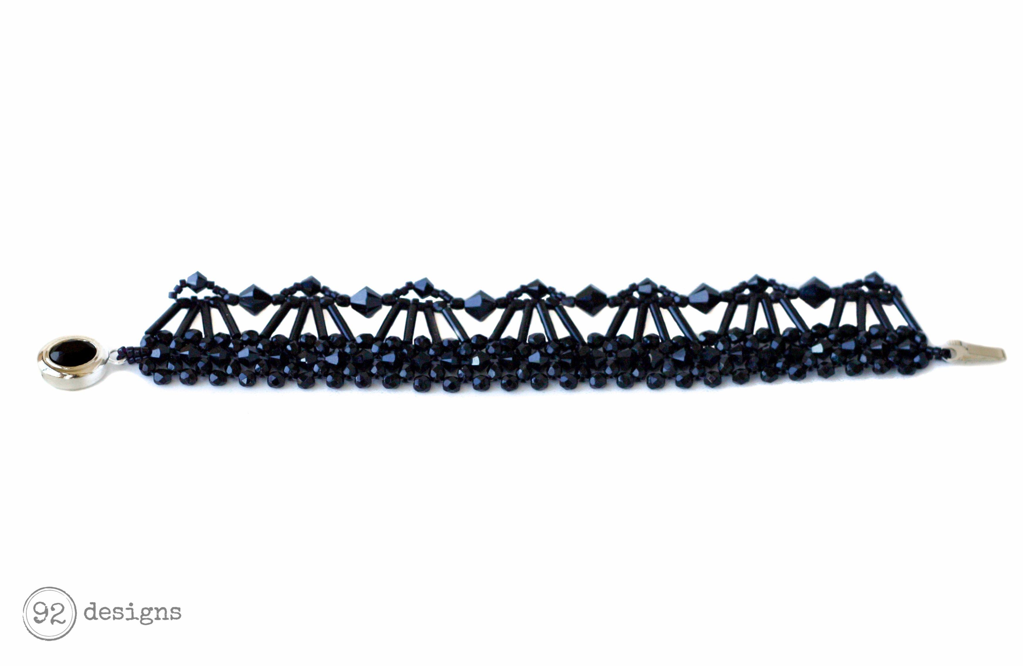 Art Deco Bracelet - Flat