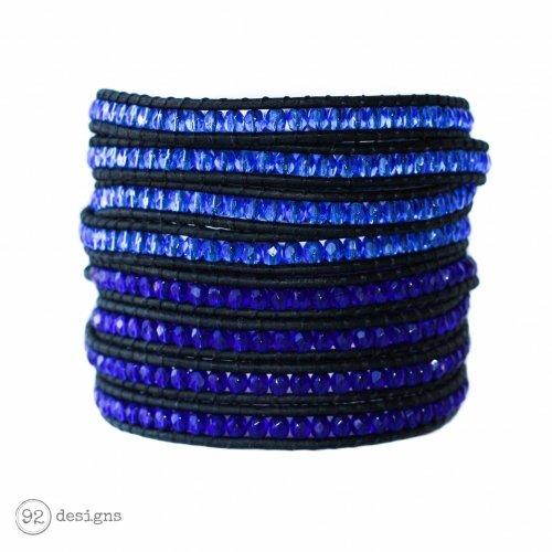 Glass Wraps - Sapphire and Cobalt