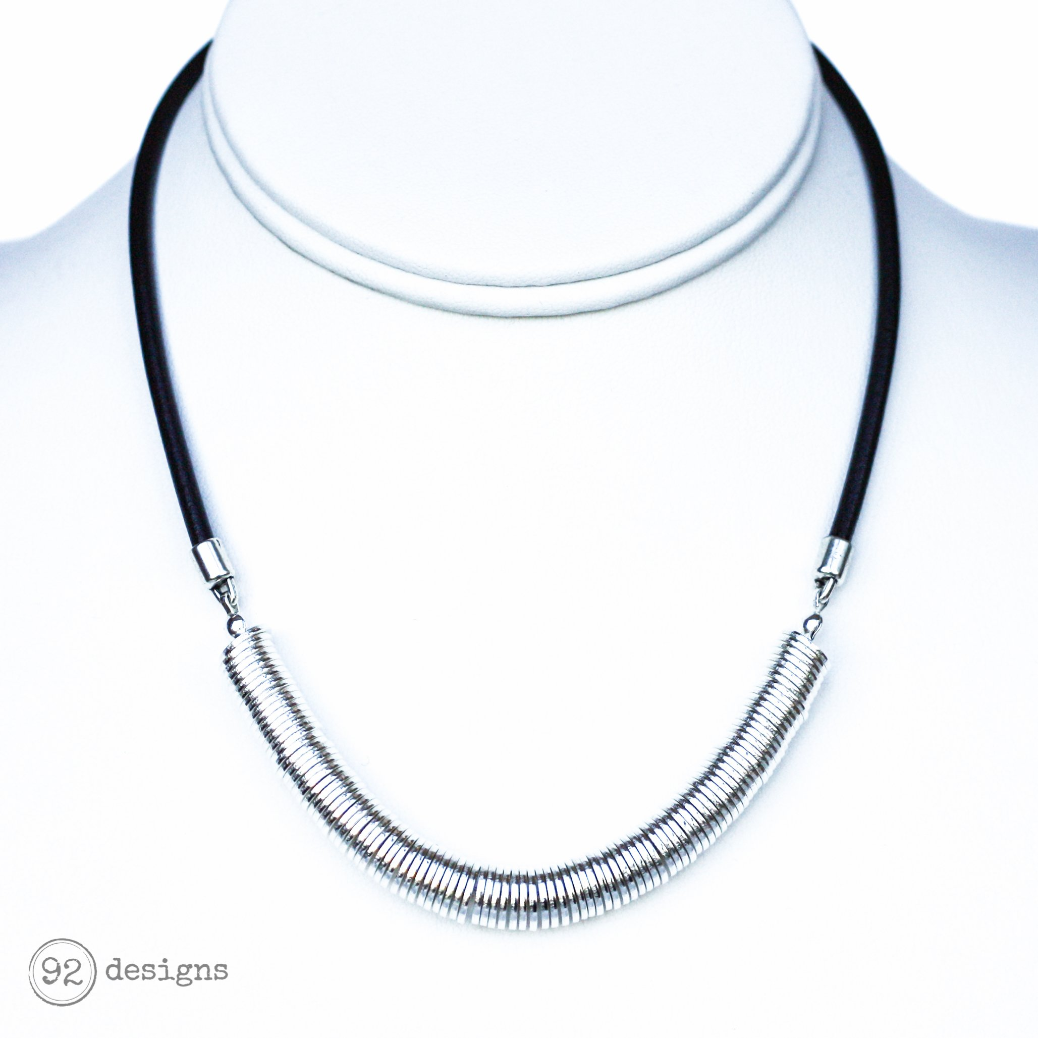 black nordicmuse product matte necklace shape cos index link