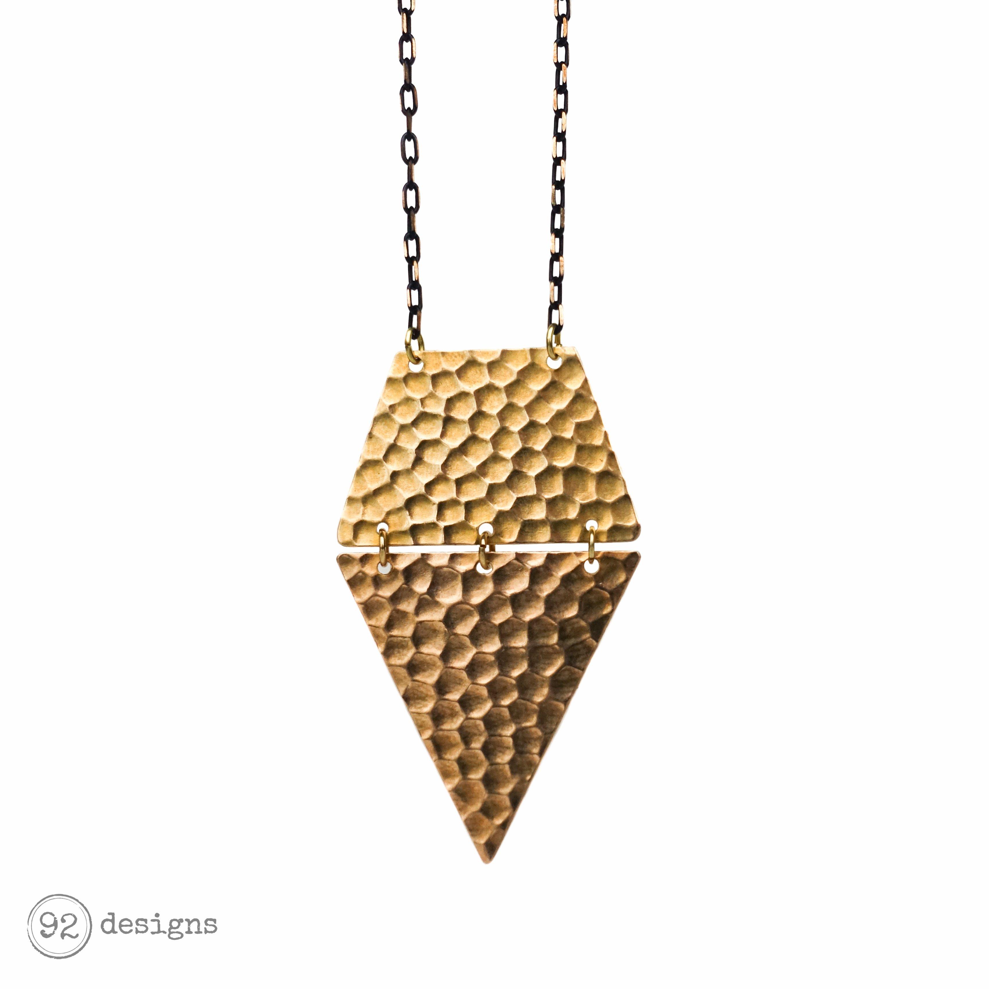 Plateau Long Necklace