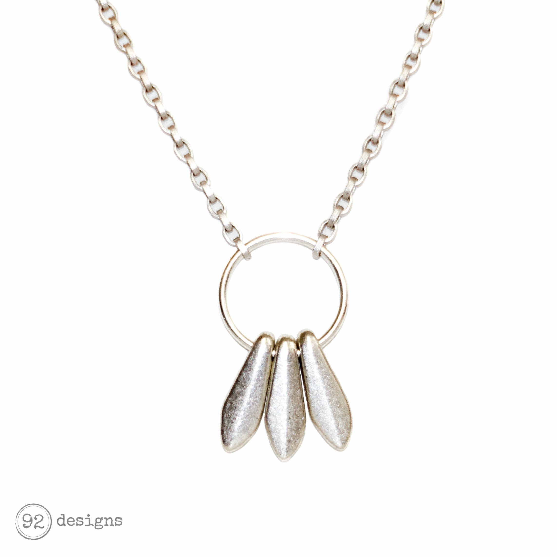 sterling nina online b pendant at leaves buynina johnlewis necklace lewis pdp main silver john com rsp