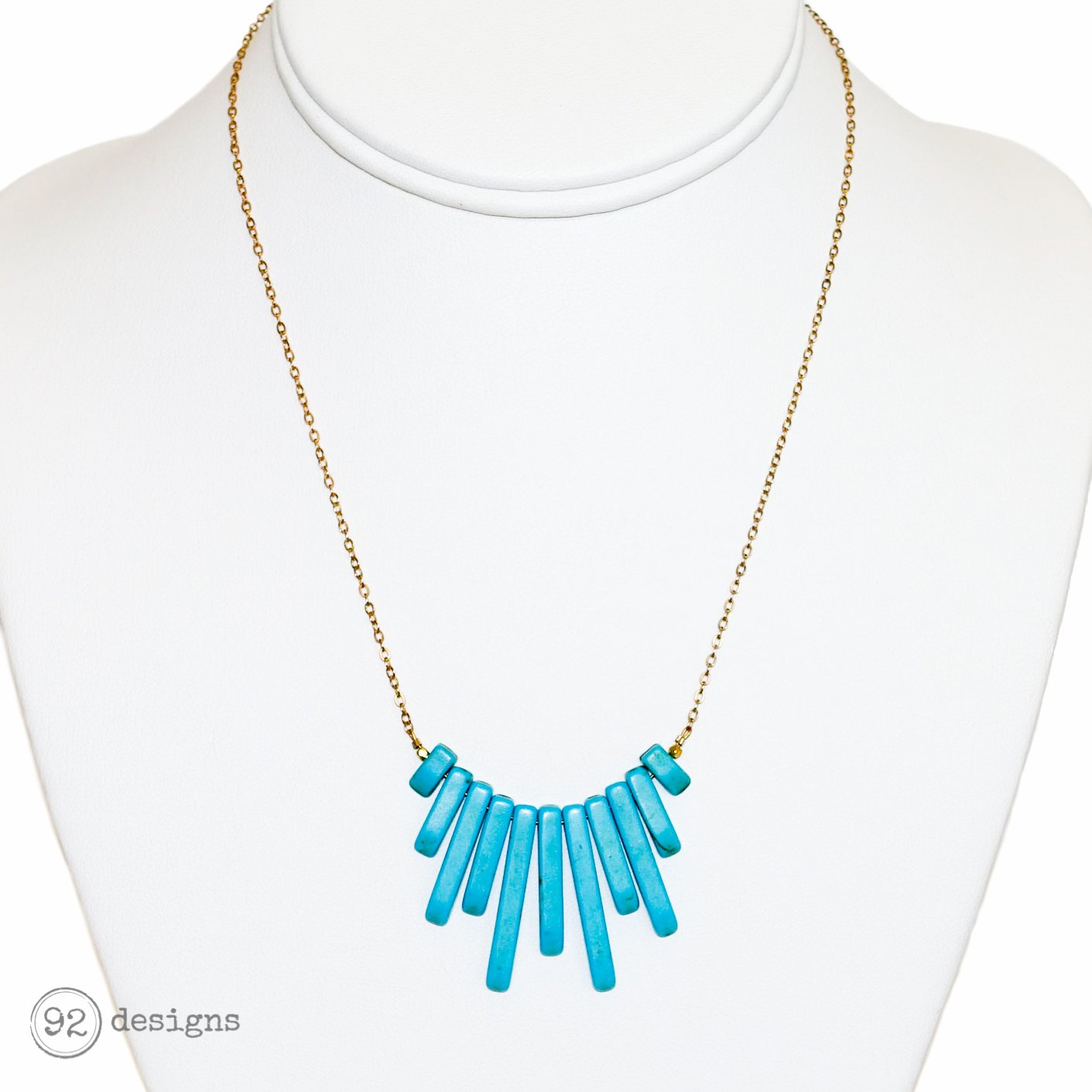 west blossom qvc com product necklace page squash jewellery american spiderweb turquoise