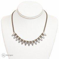 silver dagger necklace