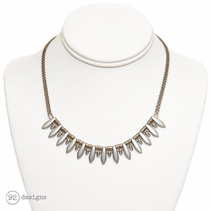 Silver Dagger Necklace – 92 Designs | Handcrafted Modern Jewelry
