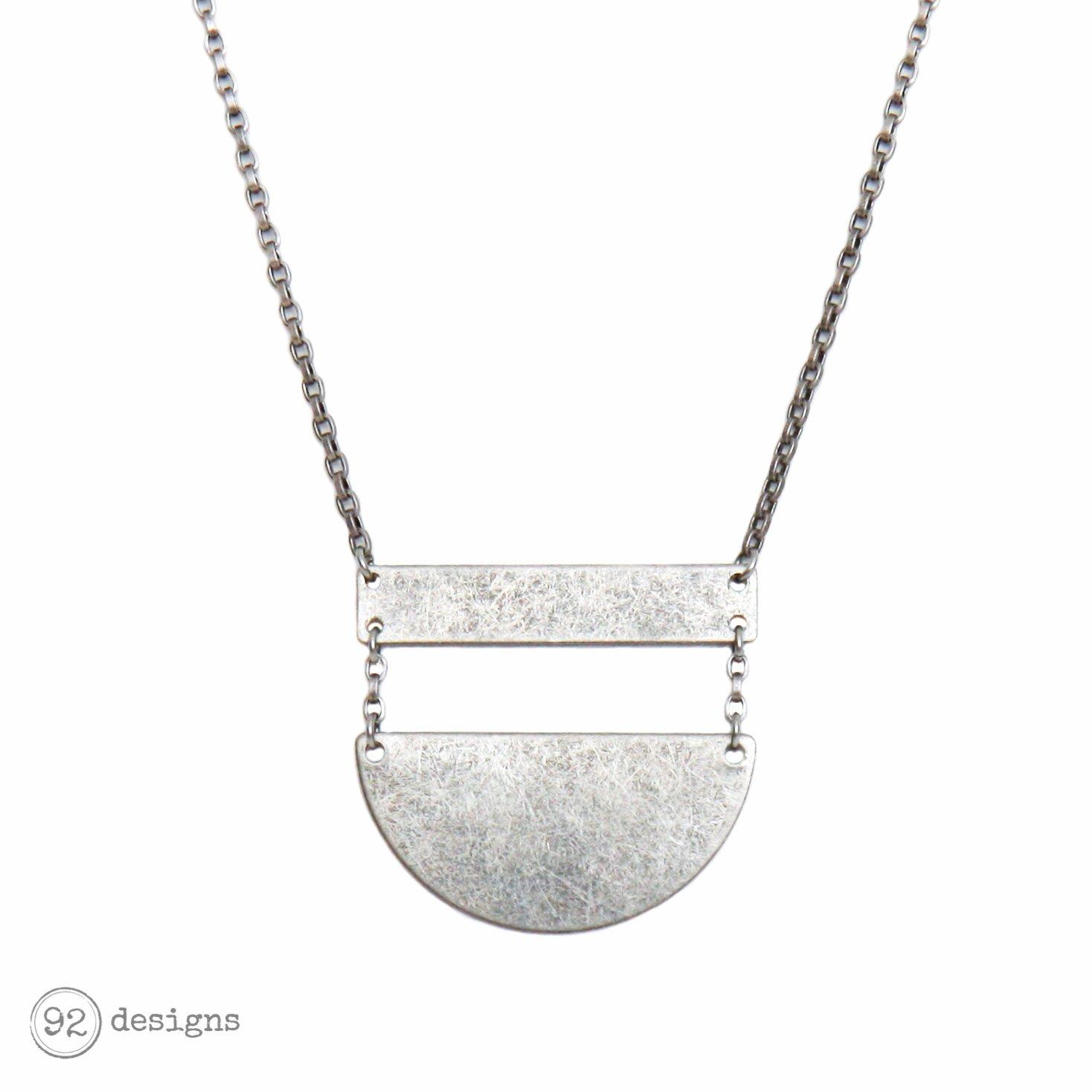 Negative Space Necklace