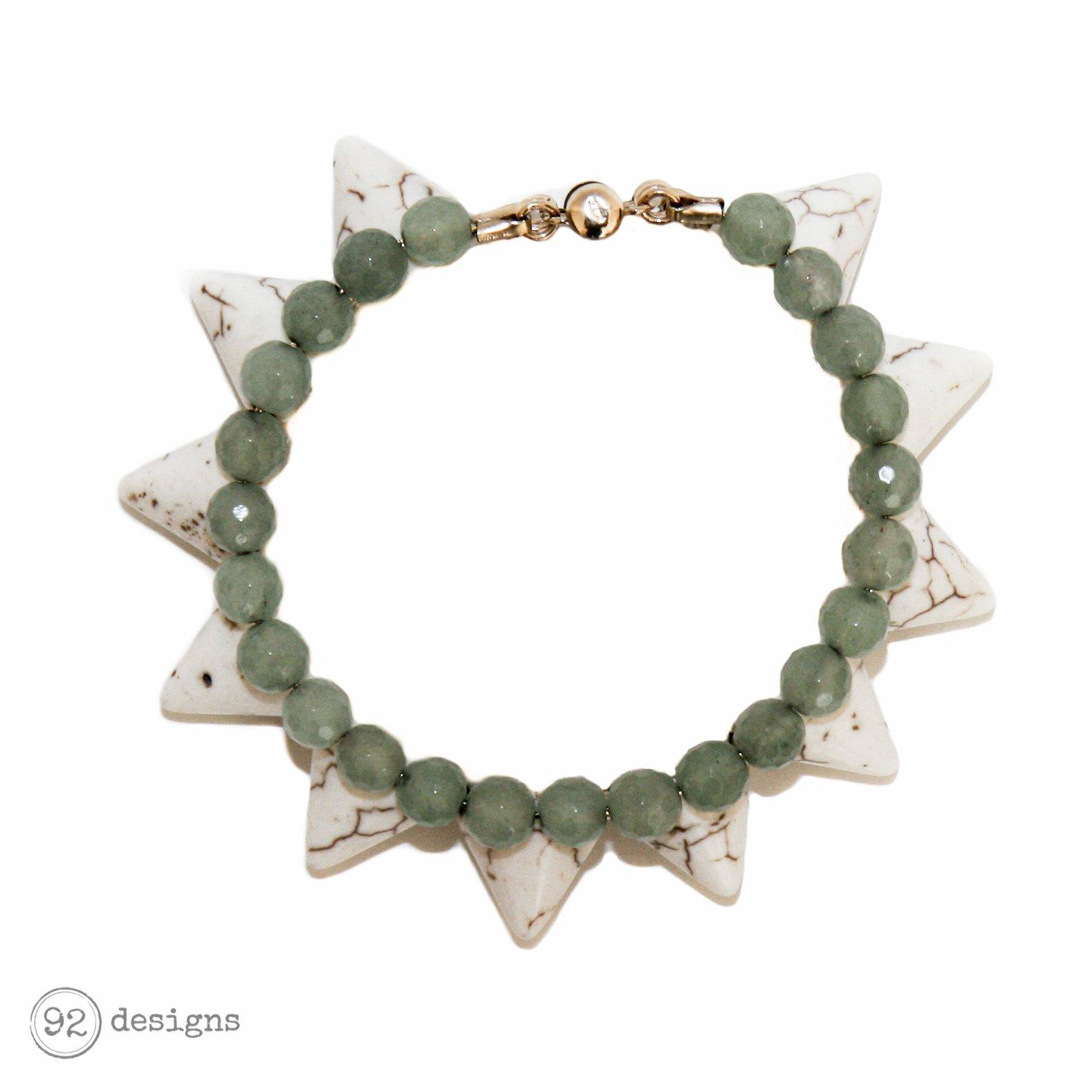 Semi-Precious Gemstone Spikes